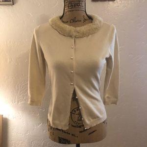 August Silk Knits sweater, size medium